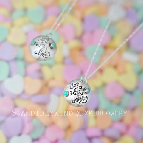 Candidly Kind x MUD Sterling Silver Necklace