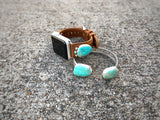 Royston Turquoise Double Wire Cuff