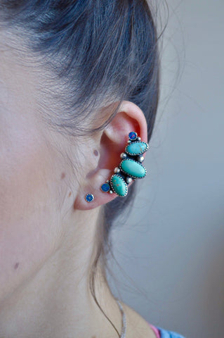 Royston and Opal Ear Cuff