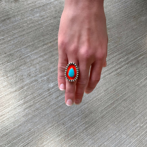 Royston Turquoise Sunset Ring