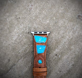 Kingman Turquoise Apple Watch Band (38mm)