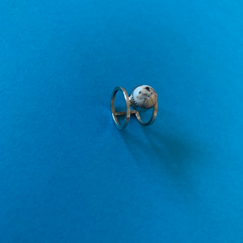 White Buffalo Ring (size 6.5)