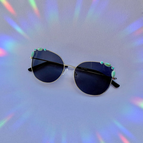 Kingman & Carico Lake Turquoise Sunglasses