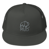 "Mud Buffalo Trucker Hat (3 Colors / 4"")"