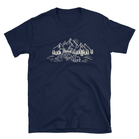 Mud Original Buffalo and Mountains T-Shirt