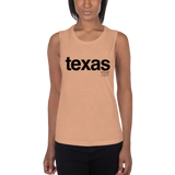 TEXAS Ladies' Muscle Tank