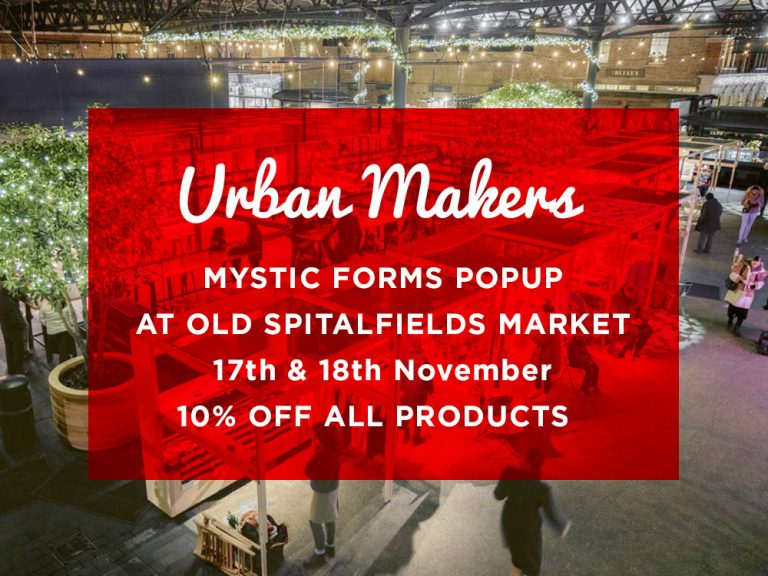 Urban Makers at Old Spitalfields Market  17&18 Nov