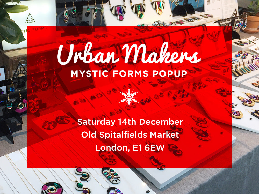 Urban Makers Old Spitalfields Market 14 December