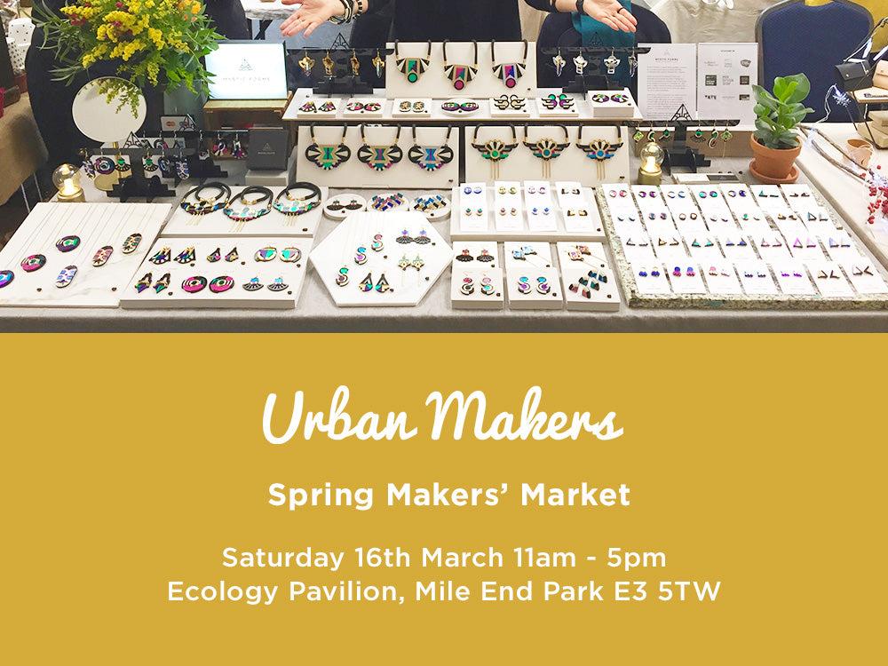 Urban Makers Spring Market 16 Mar