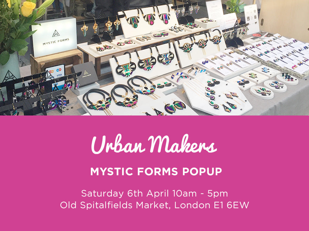 Urban Makers Old Spitalfields Market 6 Apr
