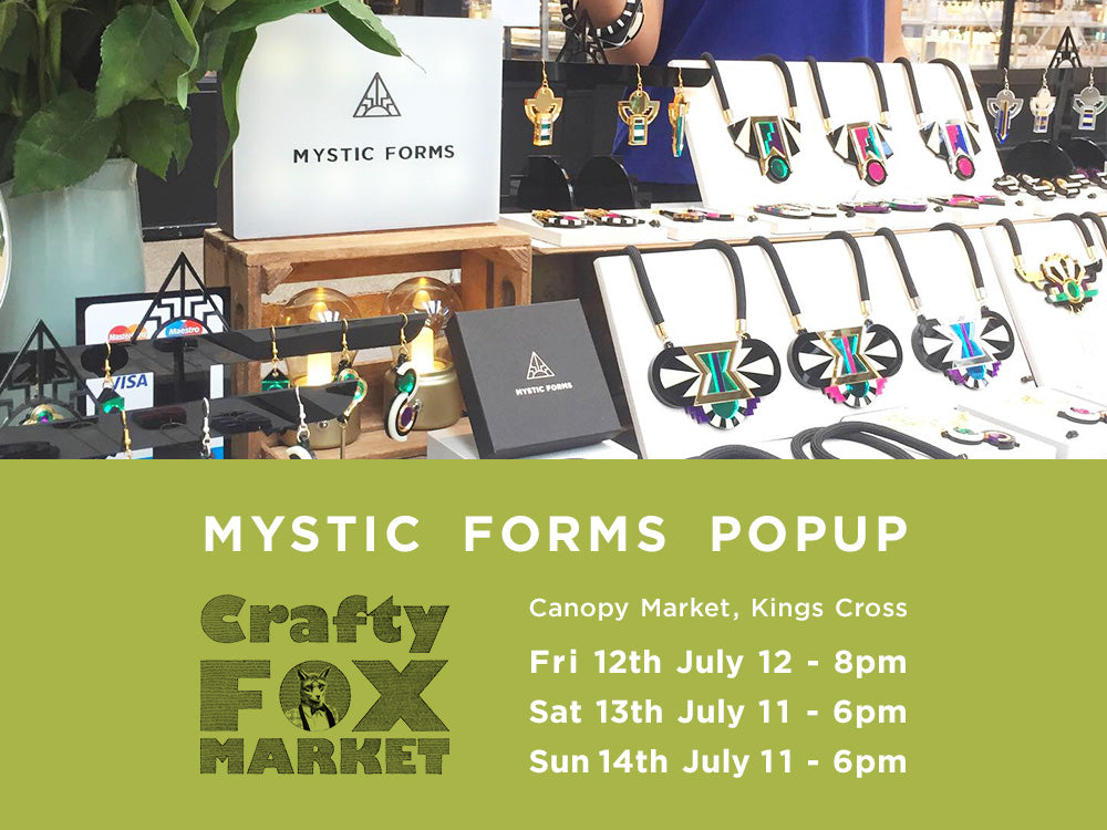 Crafty Fox Market - Canopy Market in Kings Cross 12-14 July