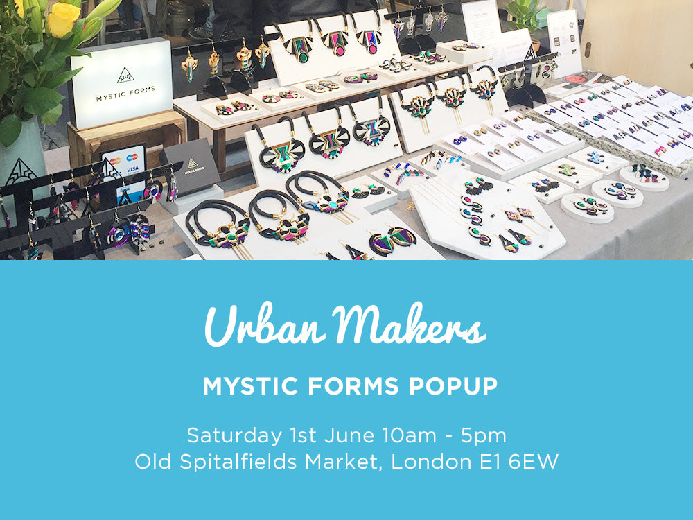 Urban Makers Old Spitalfields Market 1 June