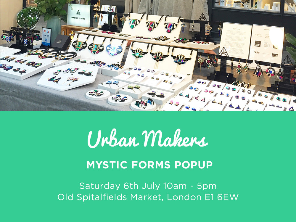 Urban Makers Old Spitalfields Market 6 July