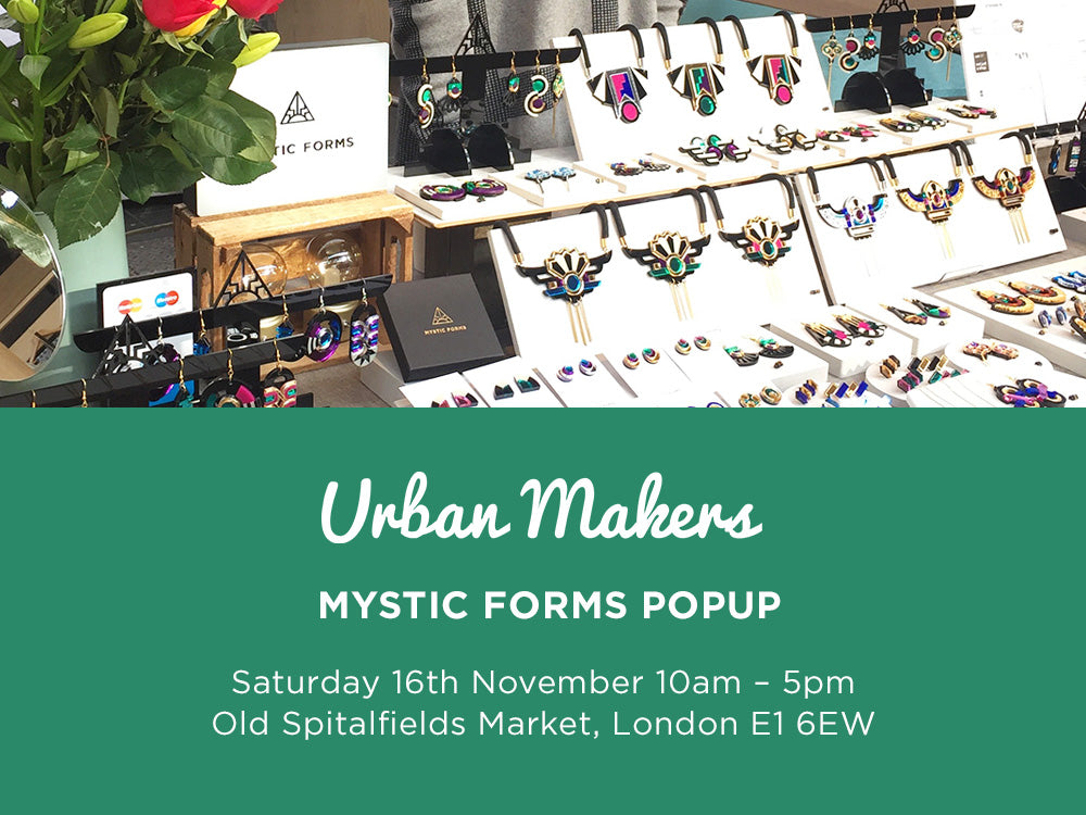 Urban Makers Old Spitalfields Market 16 November
