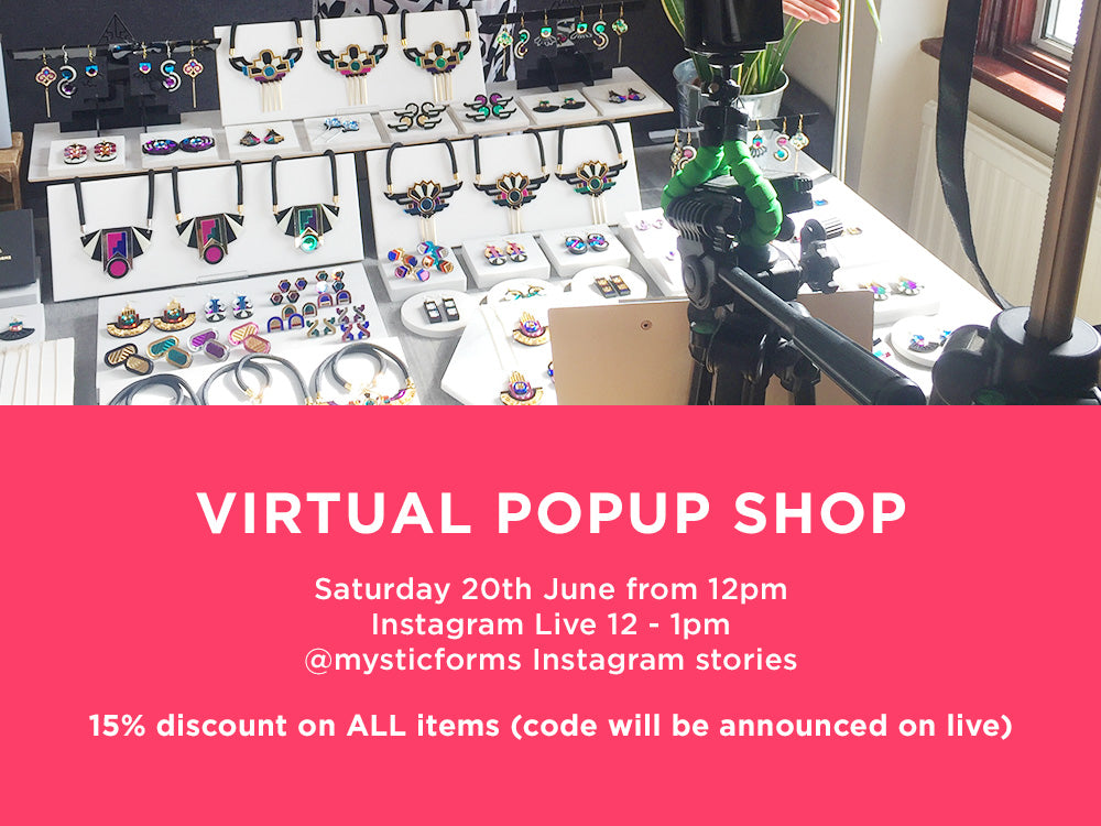 VIRTUAL POPUP SHOP 20 JUNE