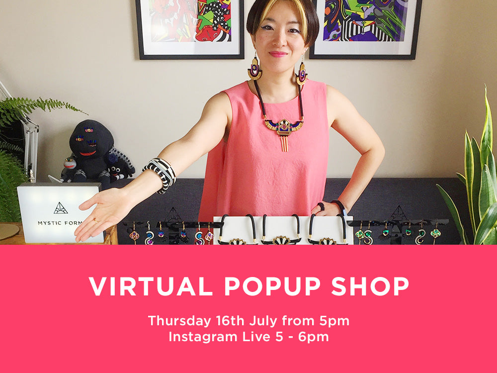 VIRTUAL POPUP SHOP 16 JULY