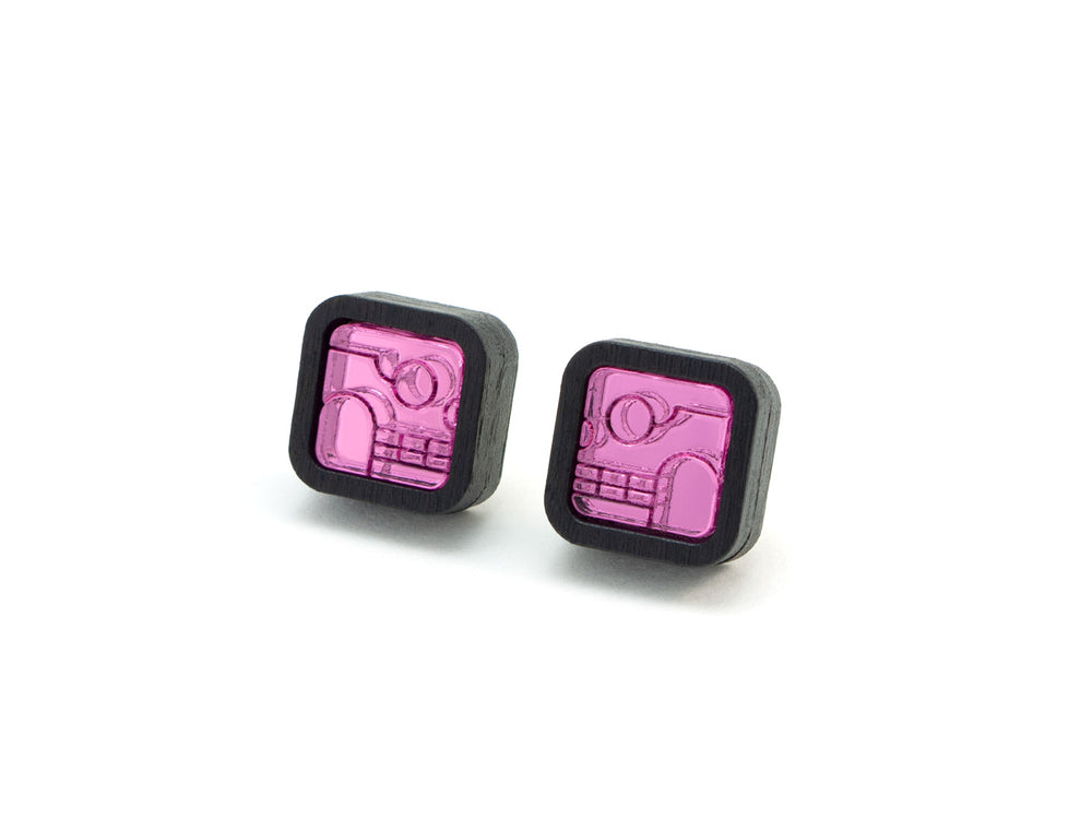 FORM052 KIMI Stud Earrings - Babypink