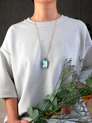FORM063 CHAC Necklace  - Ice Blue