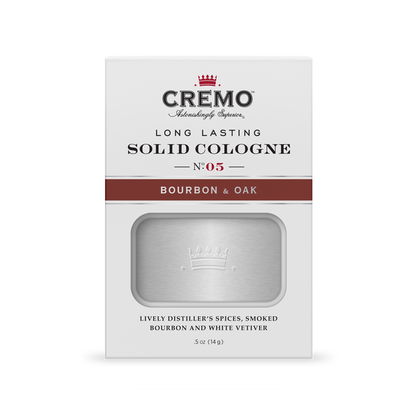 Solid Cologne Bourbon & Oak