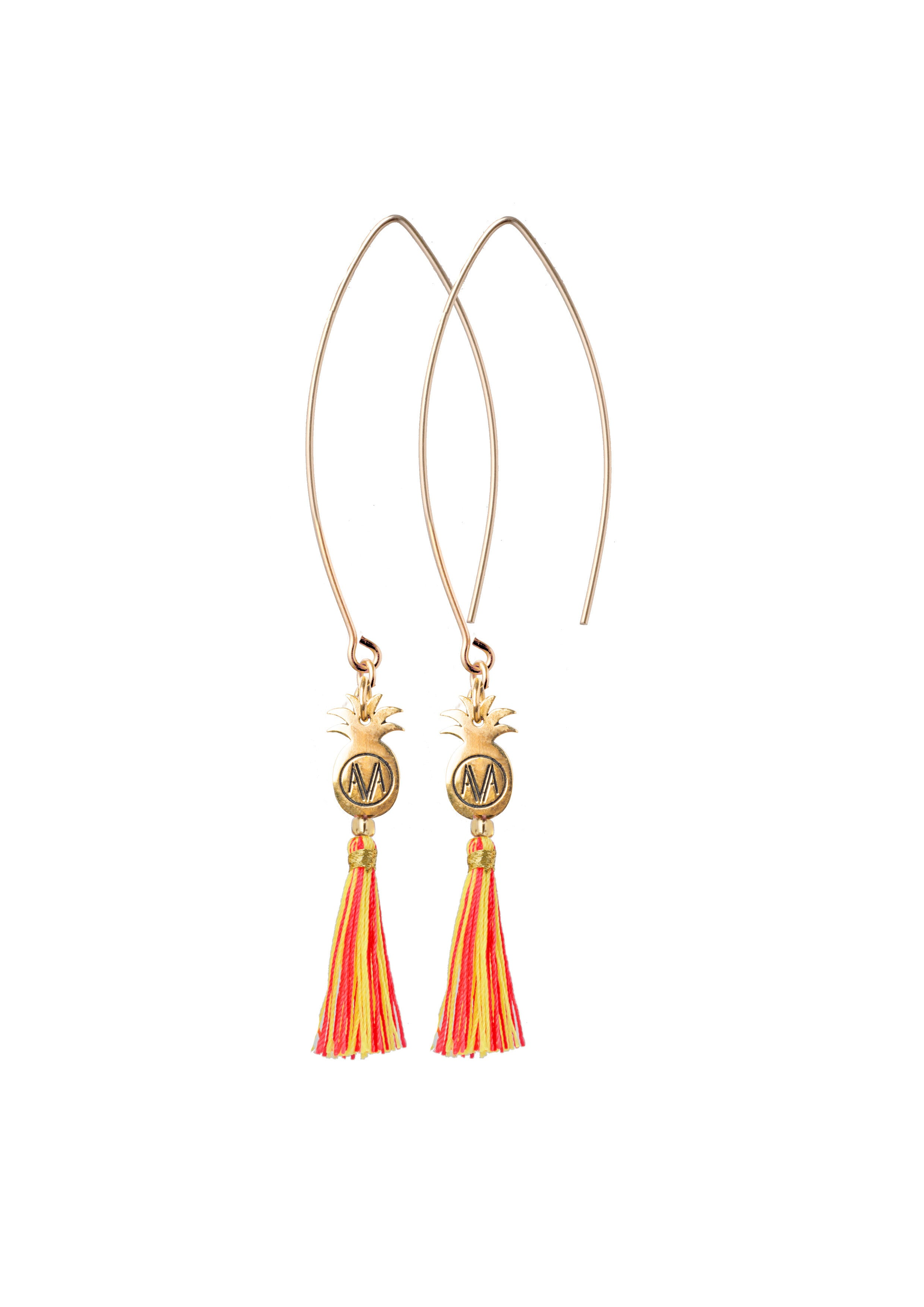 Gold Bamba Earrings - Hook - Amadoria