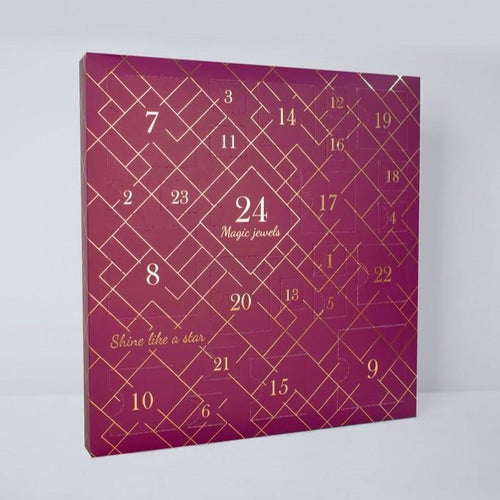 Burgundy Jewellery Advent Calendar 2020