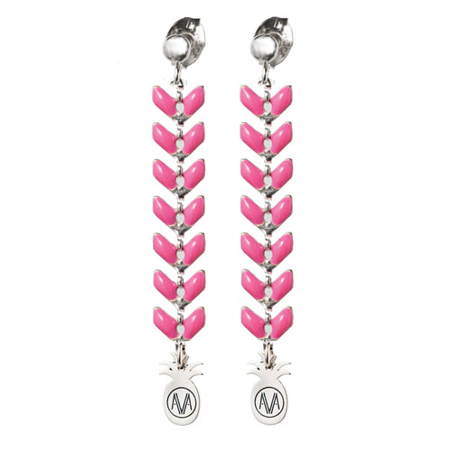 Pastel Earrings - Pink