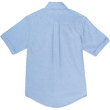 French Toast Kids Short Sleeve Oxford Shirt Blue