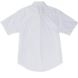 French Toast Kids Short Sleeve Oxford Shirt White Back