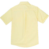 French Toast Kids Short Sleeve Oxford Shirt Yellow Back