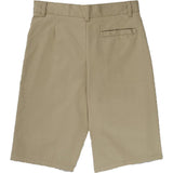 French Toast Flat Front Adjustable Waist Short Khaki