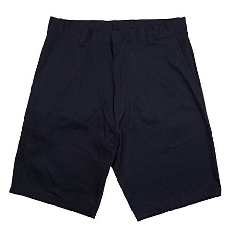 Genuine School Uniforms Boys Flat Front Shorts Navy