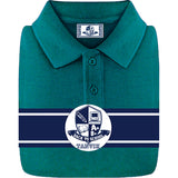 Tanvir School Uniform Kids Pique Polo Teal
