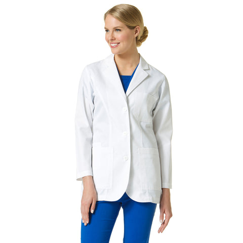 Maevn Ladies Consultation Lab Coat Style - 7151 Sizes XS - 3XL