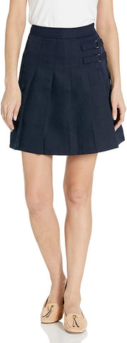 French Toast Womens/Juniors 2 Tab Scooter Skirt </br>Sizes 03 -13