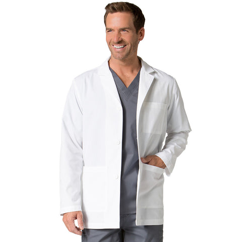 Maevn Mens Consultation Lab Coat Style - 7216 Sizes XS - 5XL