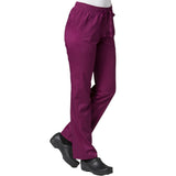 Maevn Eon Active Sporty Mesh Panel Pant Style 7318 Sizes XS - 3XL Wine