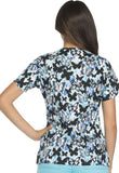 Dickies Mock Wrap Top Majestic Monarch Print Style 82724 - MJMH<br/>Sizes XS - 3XL