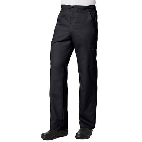 Maevn Eon Active Men's Half Elastic 8-Pocket Cargo Pant Style 8308 Black