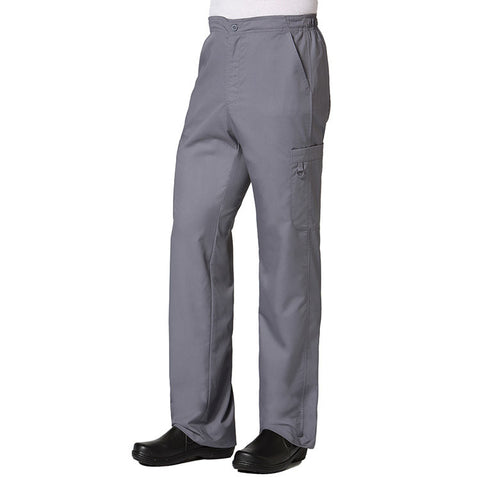 Maevn Eon Active Men's Half Elastic 8-Pocket Cargo Pant Style 8308 Pewter