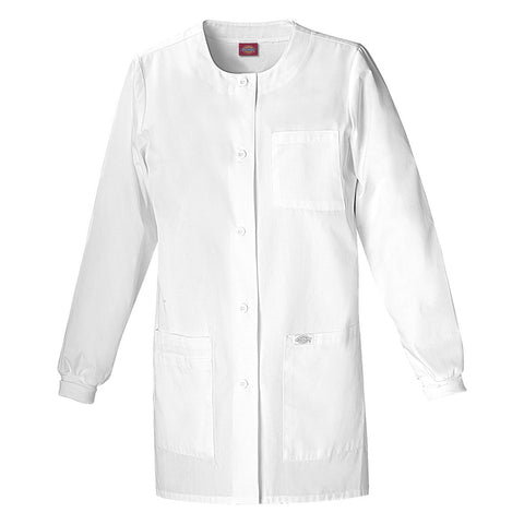 "Dickies Women's 32"" Jewel Neck Lab Coat Style - 84403 Sizes XS - XXL"