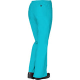 "Maevn Core Womens Classic Flare Pant Style 9026 - Regular 31"" Plus Fit Lake Blue"