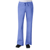 Maevn Core Womens Classic Flare Pant - Regular Fit Ceil Blue