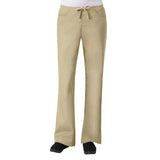 Maevn Core Womens Classic Flare Pant - Regular Fit Khaki