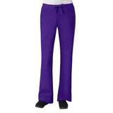 Maevn Core Womens Classic Flare Pant - Regular Fit Purple
