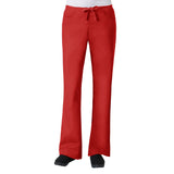 Maevn Core Womens Classic Flare Pant - Regular Fit Red