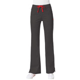 Maven Women's Blossom Multi Pocket Flare Pant - Charcoal