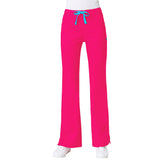 Maven Women's Blossom Multi Pocket Flare Pant - Passion Pink