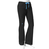 Maven Women's Blossom Multi Pocket Utility Cargo Pant - Black