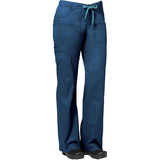 "Maevn Women's Blossom Multi Pocket Utility Cargo Pant Style - 9202 Regular 31"" Fit Caribbean Blue"