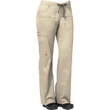"Maevn Women's Blossom Multi Pocket Utility Cargo Pant Style - 9202 Regular 31"" Plus Fit Khaki"